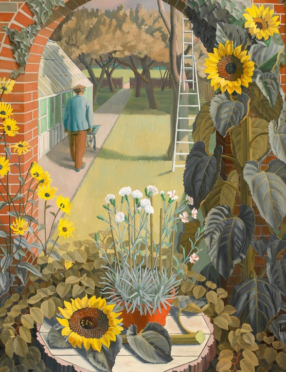 Charles Mahoney, The Garden (1950)