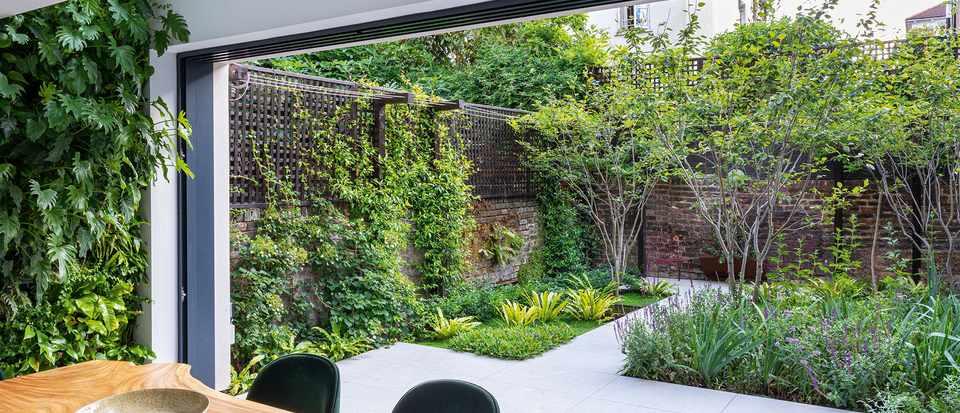 An urban garden: a small west London garden designed by Adolfo Harrison