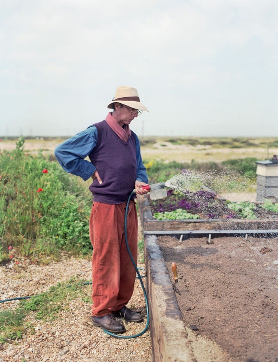 Derek Jarman at Prospect Cottage