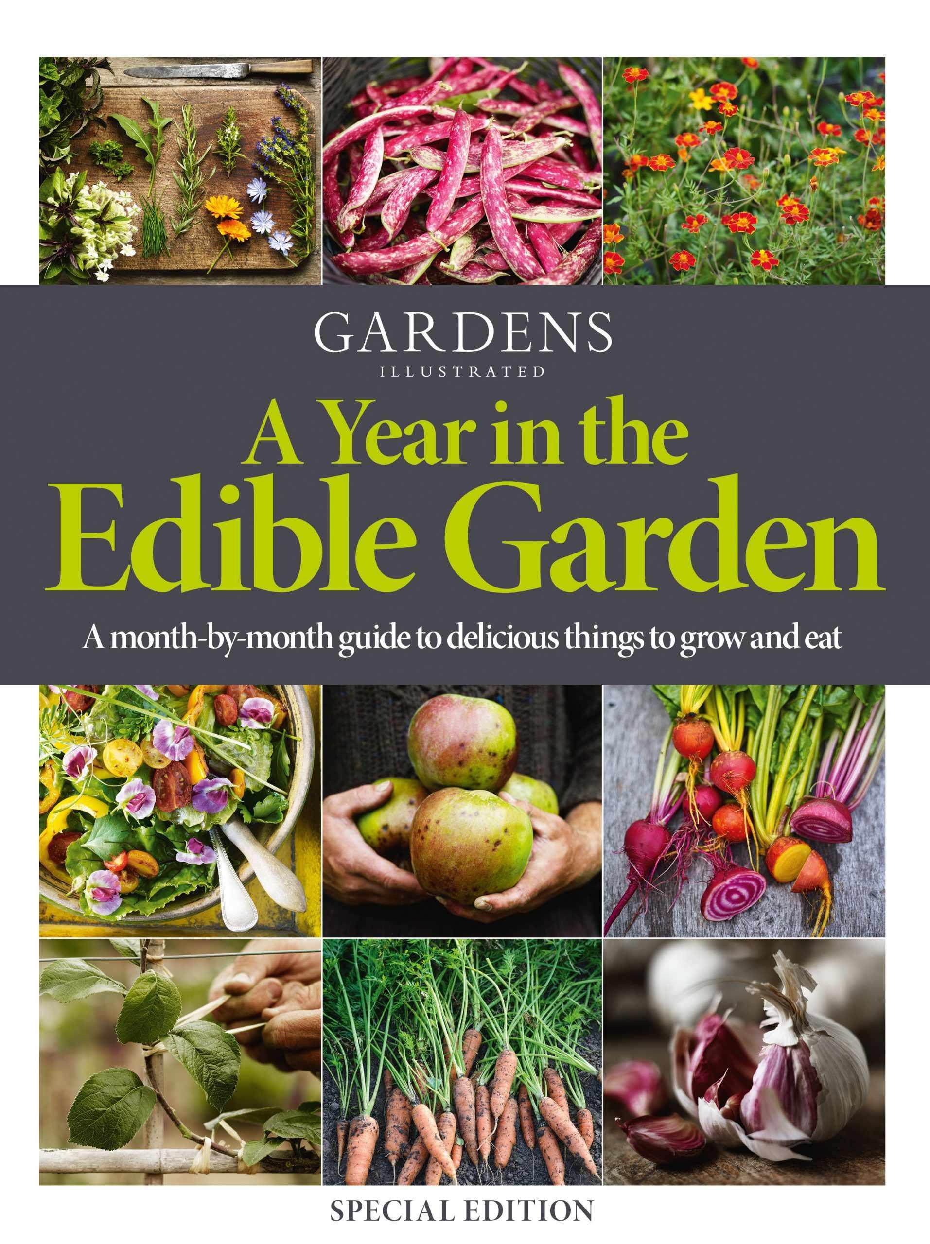 A Year in the Edible Garden cover