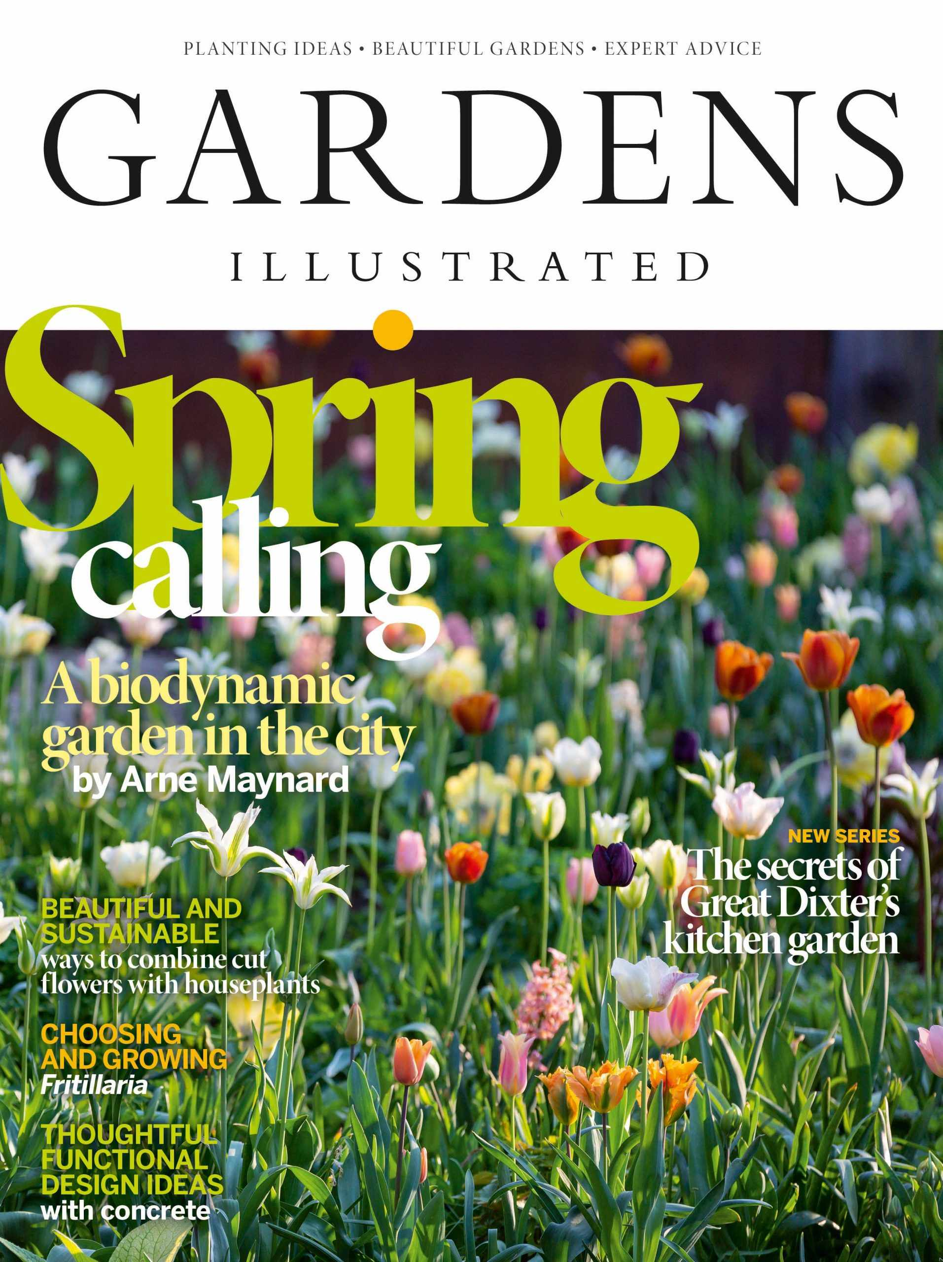 Gardens Illustrated April edition