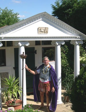 Shed of the Year 2007 - The Roman Temple