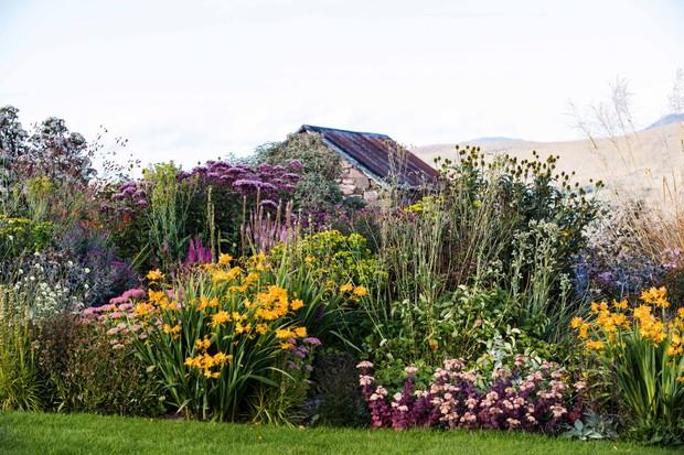 Durnamuck garden in Scotland