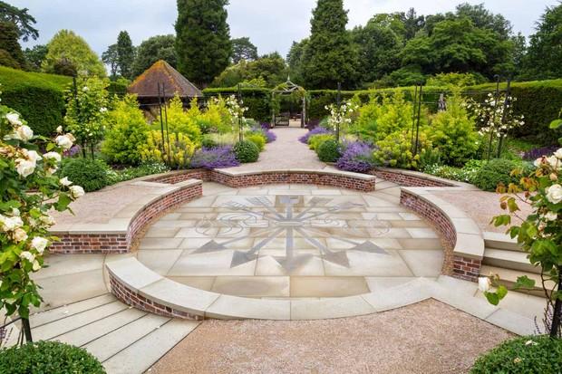 Centenary garden at Exbury Gardens