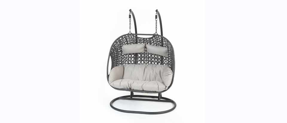 Win a fabulous double cocoon chair