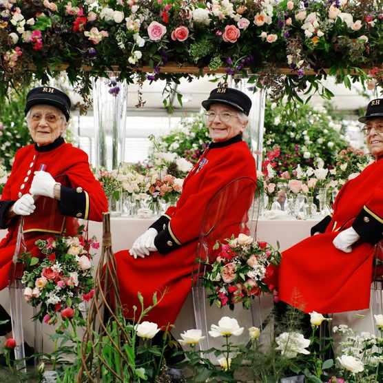 Chelsea Flower Show: Chelsea pensioners