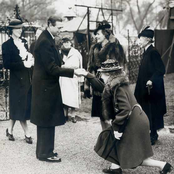 1939: The Duke of Kent at the RHS Chelsea Flower Show.