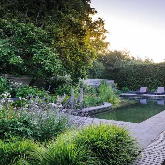 Bignor Garden, designed by Chris Moss
