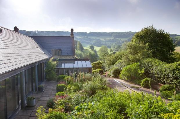 Alison Jenkins' garden