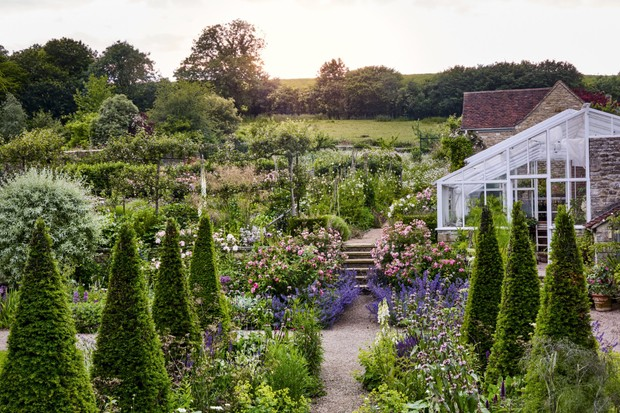 Batcombe House garden, designed by Libby Russell