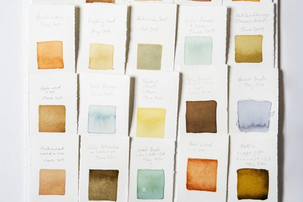 Artist Alice Fox's natural pigments