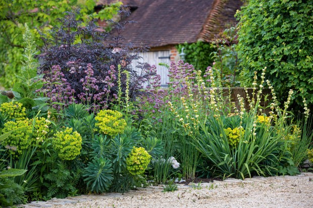 Arne Marnard-designed garden in West Sussex