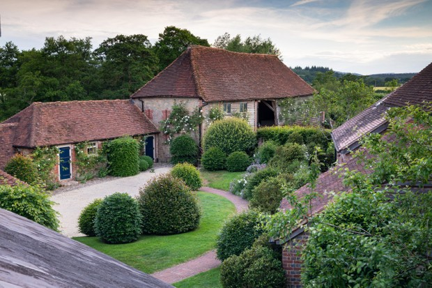 Arne Maynard-designed garden in West Sussex.