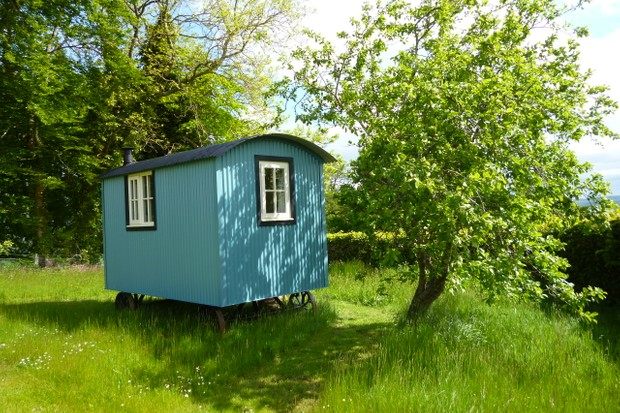 The Shepherd's Hut Knockbain AirBnB
