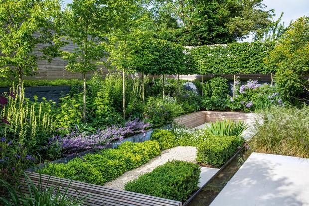 Martin and Nicola Henderson's urban garden