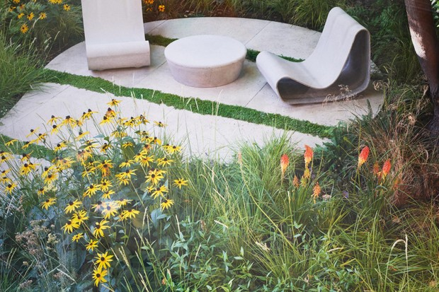 A south London garden designed by Sheila Jack