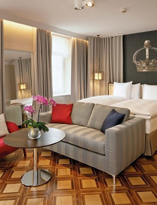 Sorell Hotel Krone, Winterthur. This boutique hotel in the heart of Winterthur's medieval Old Town is the perfect base for exploring Winterthur's many museums and restaurants, and for indulging in some retail therapy.