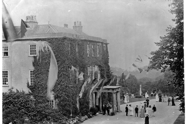 Heligan House early 1900s