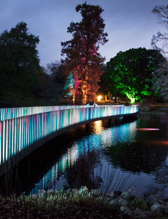 Kew Gardens Christmas in 2017