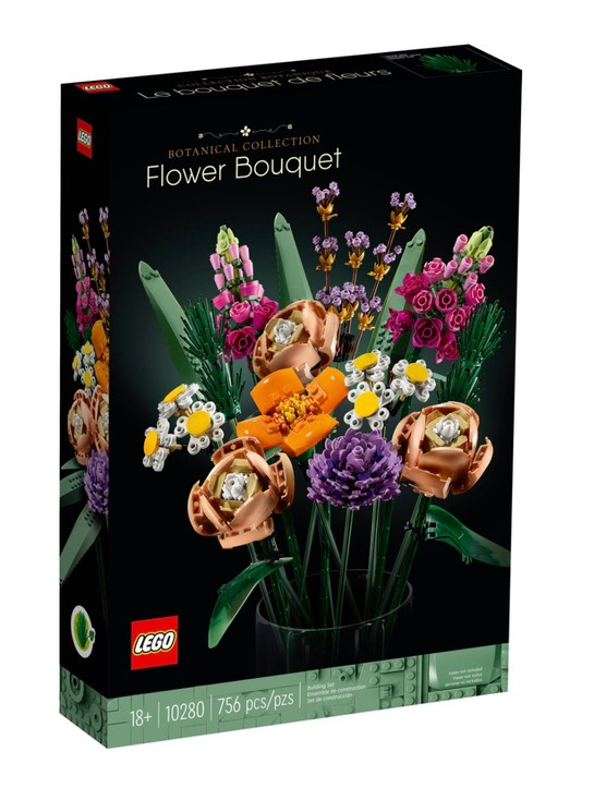 Lego's bouquet – fresh out of the box