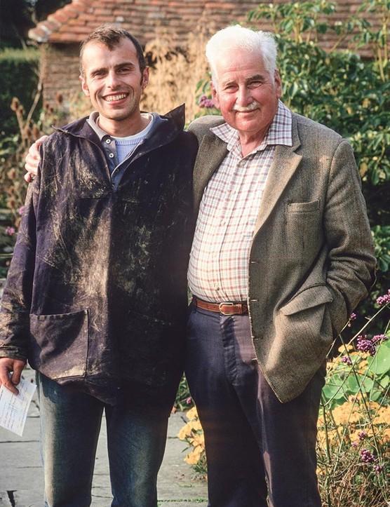 Fergus Garrett with Christopher Lloyd: