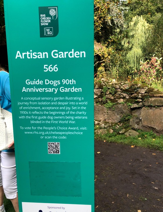 The Guide Dogs 50th Anniversary Garden at Chelsea 2021