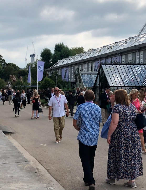 The show this year was as huge as ever, but careful design delivered a more relaxed and distanced feel.