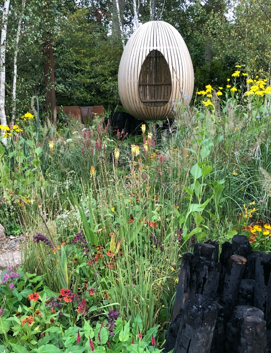 Yes, the planting is different… But the results – here's the Yeo Valley Organic Garden at Chelsea – are no less dramatic.