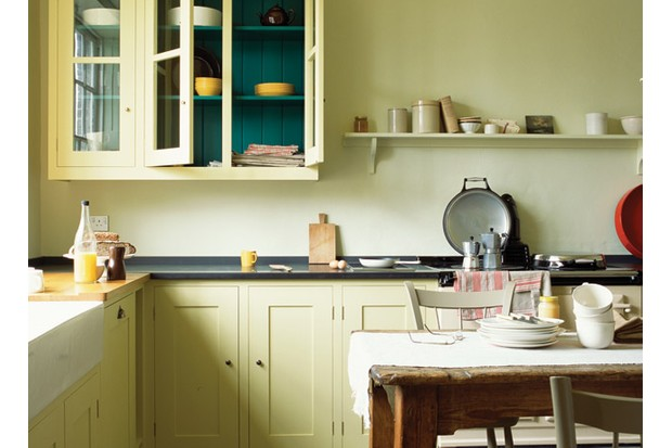 An example of a 'Long House' kitchen