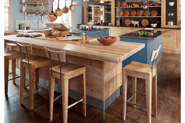 A kitchen that's taken inspiration from the setting of a Brasserie