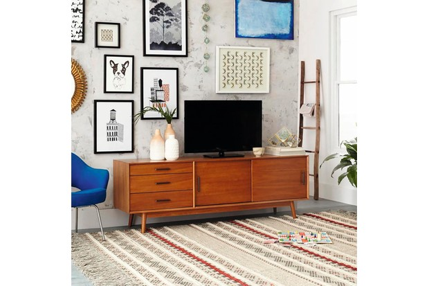 west elm Mid-Century Media Con sole (203 cm) - Acorn 1599