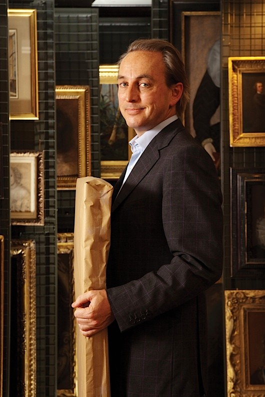 """COMMISSIONED Philip Mould. Fine Art Dealer and author of """"Sleuth"""". April 2009"""