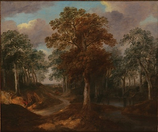Supplied by Philip Mould Cornard Wood by Gainsborough