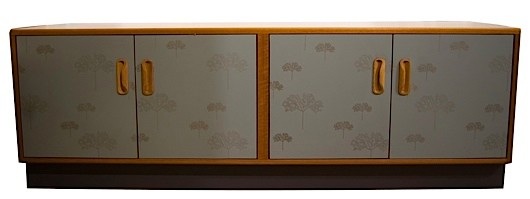 A sideboard designed by Lucy Turner