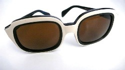 Black and white Persol sunglasses
