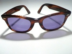A pair of toirtoiseshell Bausch & Lomb sunglasses