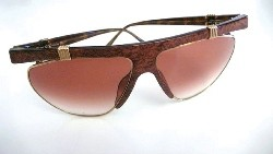 A pair of tortoiseshell Dior sunglasses
