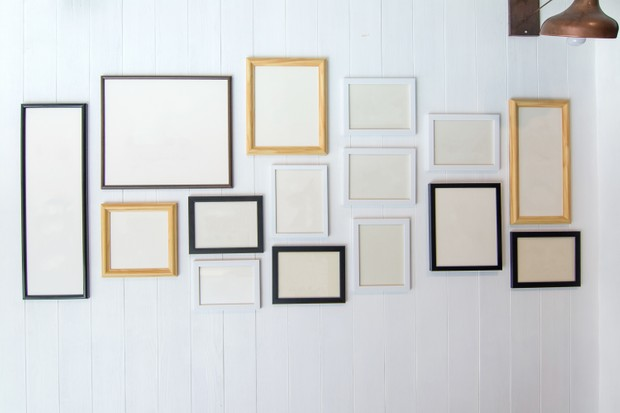 Gallery of picture frames