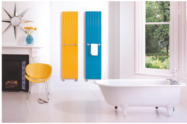 Bisque's 'Decorative panel' radiator (from £442.80) is available in 26 colours,13 finishes and a host of sizes