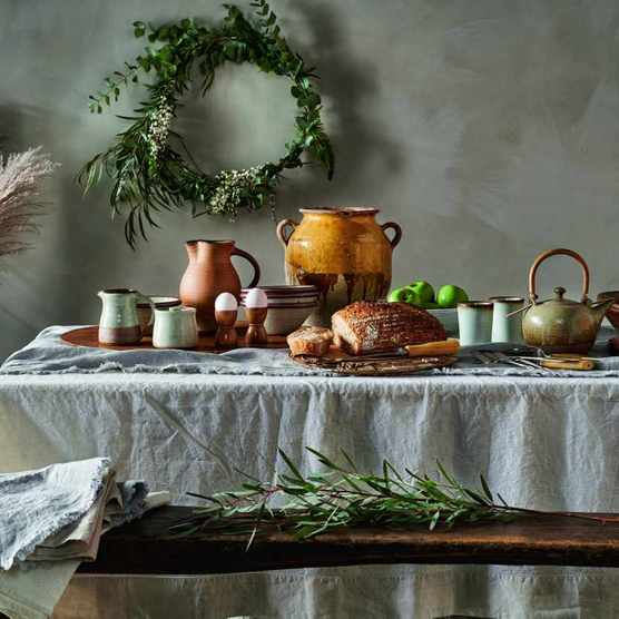 How to display handmade homewares and artisan antiques