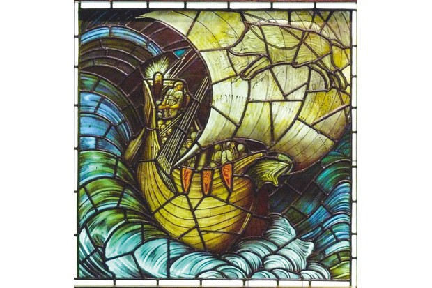 An image of William Morris's Voyage to Vinland the Good