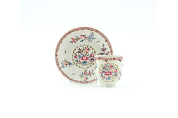 A set of 18th-century ceramics
