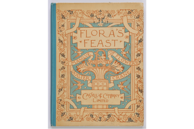 A collectable copy of 'Flora's Feast'