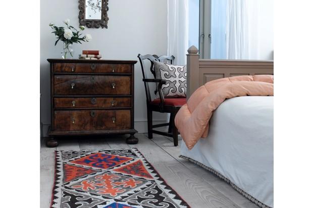 Shyrdak wool rug, 0.75 x 3.25m, £840, Felt
