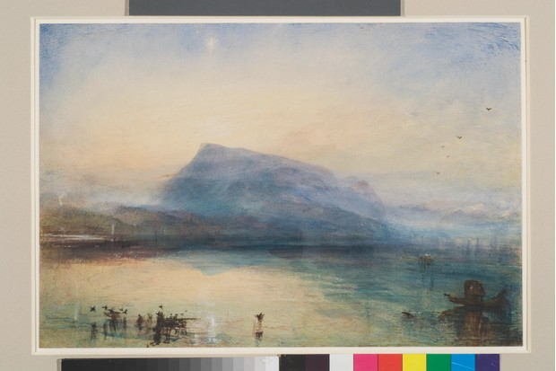JMW Turner, The Blue Rigi, Sunrise, 1842, Tate, Art Funded 2007
