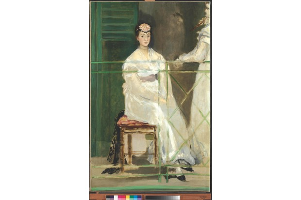 Edouard Manet, Portrait of Mademoiselle Claus, 1868, Ashmolean Museum, Art Funded 2012
