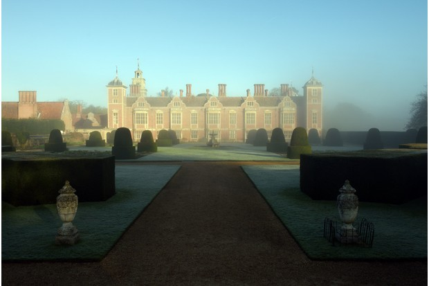 A frosty spring morning at Blickling Estate, Norfolk