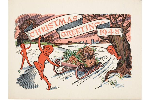 A Christmas card from 1948