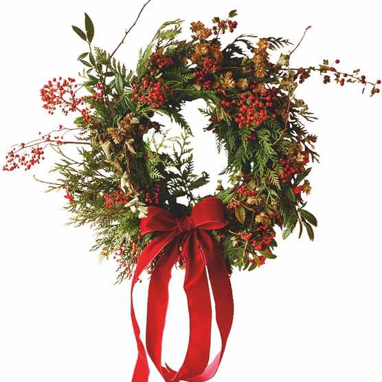 It's a Wonderful Life wreath, from £70, Yolly