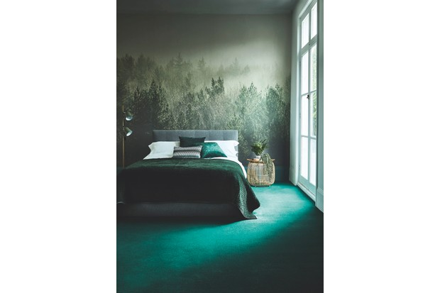 Westex 'Westend' carpet in 'Pine', 80 per cent wool, 20 per cent nylon, £45.99 per sq m, Carpetright